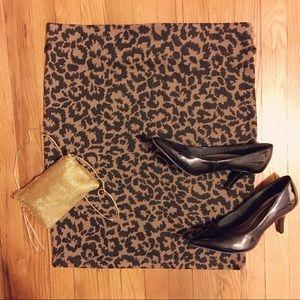 🆕👩🏼Exhilaration Leopard Print 🐾 Skirt XXL